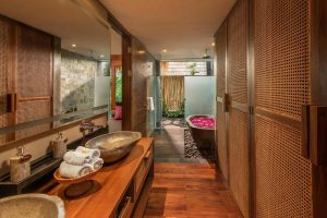 water garden pool suite