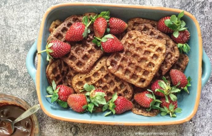 Coconut Flour Waffle Pancake