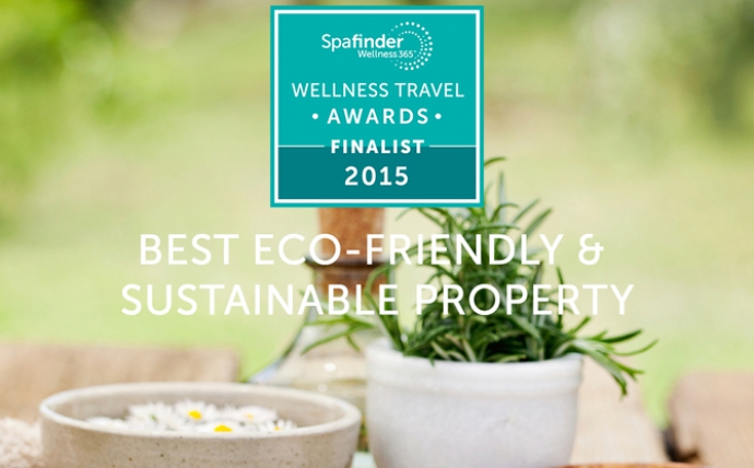 Fivelements is a Finalist in Spafinder Wellness 365 Global Wellness Travel Awards